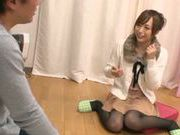 Yuu Namiki enjoys large cock drilling her