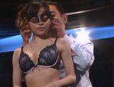 Skinny Japanese cosplay lover Erina Fujisaki in hardcore action