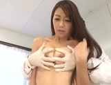 Sexy Maki Hokujo, nailed by one strong hunk in heat