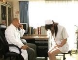 Mako Katase is a cute Japanese nurse picture 1