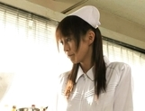 Mako Katase is a cute Japanese nurse