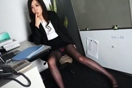 Naughty office chick Nozomi Yui deepthroats her colleague swallows jizzbig tits sex, asian tits