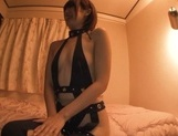 Gorgeous Asian race queen Seira Matsuoka gives a blowjob on pov picture 5