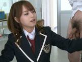 Jaopanese teen Akiho Yoshizawa in action picture 11