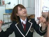 Jaopanese teen Akiho Yoshizawa in action picture 14