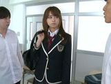 Jaopanese teen Akiho Yoshizawa in action picture 2