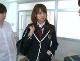 Jaopanese teen Akiho Yoshizawa in action picture 3