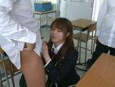 Jaopanese teen Akiho Yoshizawa in action picture 4