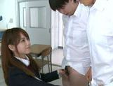 Jaopanese teen Akiho Yoshizawa in action picture 7