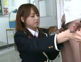 Jaopanese teen Akiho Yoshizawa in action picture 9