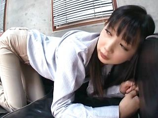 Lovely Tsumugi Serizawa sex toys and teacher fucking action