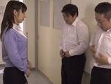 Hot blowjob with Japanese teacher, Kimika Ichijou, in heat picture 13