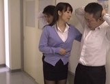 Hot blowjob with Japanese teacher, Kimika Ichijou, in heat