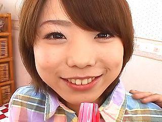 Alluring anal sex lover Morimoto Miku sucks cock gets drilled
