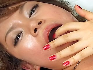 Horny maid You Morisawa is screwed and gets her anal and slit creamed