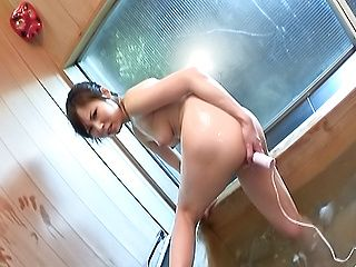 Sugary Asian sweetheart Karen enjoys anal and pussy toying
