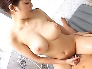 Yumi Osako Naughty Asian Chick Gets Off On Jerking Off