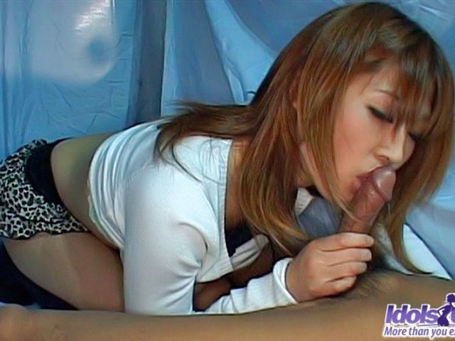 Ai Kurosawa Hot Japanese Model Gives Great Head