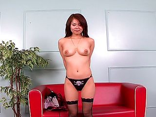 Megu Ayase Hot Asian Babe Shows Her Hot Tits And Hairy Pussy