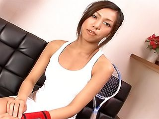 Karou Hayami Tennis Teen Is An Asian Cock Sucker