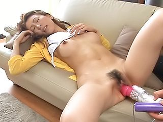 Mystery Model Is An Asian Babe Her Sexy Toys
