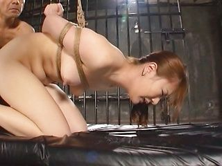 Sena Kojima Asian milf likes it hard in bondage