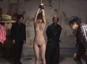 Tempting Asian milf Miku Ohashi in mmf bondage sex