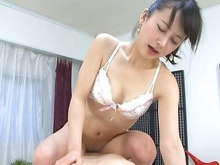 Beautiful Japanese mature chick is a sexy cock teaser