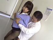 Hot blowjob with Japanese teacher, Kimika Ichijou, in heats