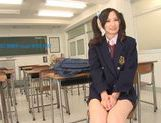 Busty teen Mei Yuuki gets nailed by her teacher picture 10