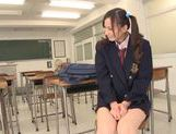 Busty teen Mei Yuuki gets nailed by her teacher picture 11
