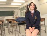 Busty teen Mei Yuuki gets nailed by her teacher picture 9