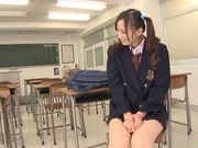 Busty teen Mei Yuuki gets nailed by her teacher