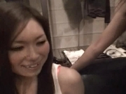 Japanese AV models have hot orgy in their apartment