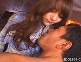Tina Yuzuki Lovely Asian Model Enjoys Getting A Pussy Pounding