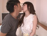 Karin Aizawa loves to feel it deep inside her hairy twat picture 12