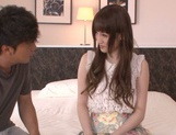 Karin Aizawa loves to feel it deep inside her hairy twat picture 3