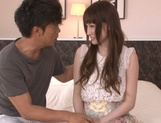 Karin Aizawa loves to feel it deep inside her hairy twat picture 5