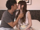 Karin Aizawa loves to feel it deep inside her hairy twat picture 6