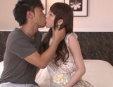 Karin Aizawa loves to feel it deep inside her hairy twat picture 8