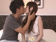 Karin Aizawa loves to feel it deep inside her hairy twat
