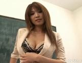 Ai Kurosawa Naughty Asian teacher likes to show off her excellent body