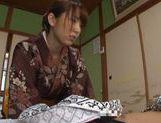Hottie Asian in sexy kimono enjoys true porn picture 11