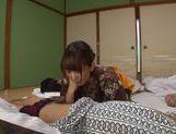 Hottie Asian in sexy kimono enjoys true porn picture 15