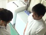 Arousing Japanese AV Model flirts with a guy and gets screwed picture 7