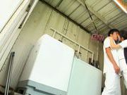 Arousing Japanese AV Model flirts with a guy and gets screwed