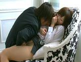Yuu Asakura sweet Japanese girl enjoys giving blowjobs