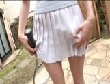 Suzuki Chao Hot Asian model gives real hot blow jobs picture 2
