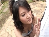 Suzuki Chao Hot Asian model gives real hot blow jobs picture 3