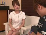 Akiho Yoshizawa Japanese babe enjoys a cock ride picture 3